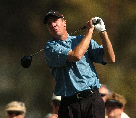Todd Fischer in action during the third round of the PGA's Tour 2005 Chrysler Classic of Tucson at the Omni Tucson National Golf Resort & Spa February 26, 2005 in Tuscon, Arizona.