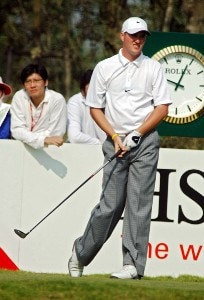 No UK & Germany rights,  Marc Warren (SCO) during the final round of the 2006 HSBC Champions Tournament at Sheshan Golf Club in Shanghai, China on November 12, 2006.Photo by FotoSports/WireImage.com
