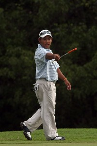 Sixteen-year-old Tadd Fujikawa  from Hawaii looks over the 10th green during the first round of The Childrens Miracle Network Classic held on the Palm and Magnolia Courses at The Disney Shades of Green Resort on November 1, 2007 in Orlando, Florida, PGA TOUR - 2007 Children's Miracle Network Classic presented by Wal-Mart - First RoundPhoto by David Cannon/WireImage.com