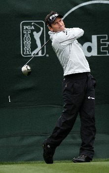 SCOTTSDALE, AZ - FEBRUARY 03:  Mark Wilson hits his tee shot on the first hole during the final round  of the FBR Open on February 3, 2008 at TPC of Scottsdale in Scottsdale,  Arizona.  (Photo by Stephen Dunn/Getty Images)