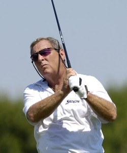 Fuzzy Zoeller during the third round of the JELD-WEN Tradition at The Reserve Vineyards & Golf Club in Aloha, Oregon on Saturday, August 26, 2006.Photo by Steve Levin/WireImage.com