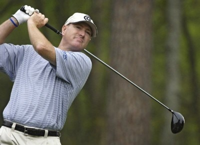 Steve Flesch during the frist round of the Shell Houston Open at the Redstone Golf Club,Tournament Course, Humble, Texas, on Thursday, April 20, 2006Photo by Marc Feldman/WireImage.com