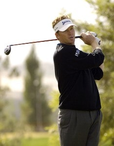 Tim Petrovic in action during the first round of the Bob Hope Chrysler Classic at The Classic Club in Palm Desert, California  on Wednesdqay,  January 18, 2006.Photo by Marc Feldman/WireImage.com