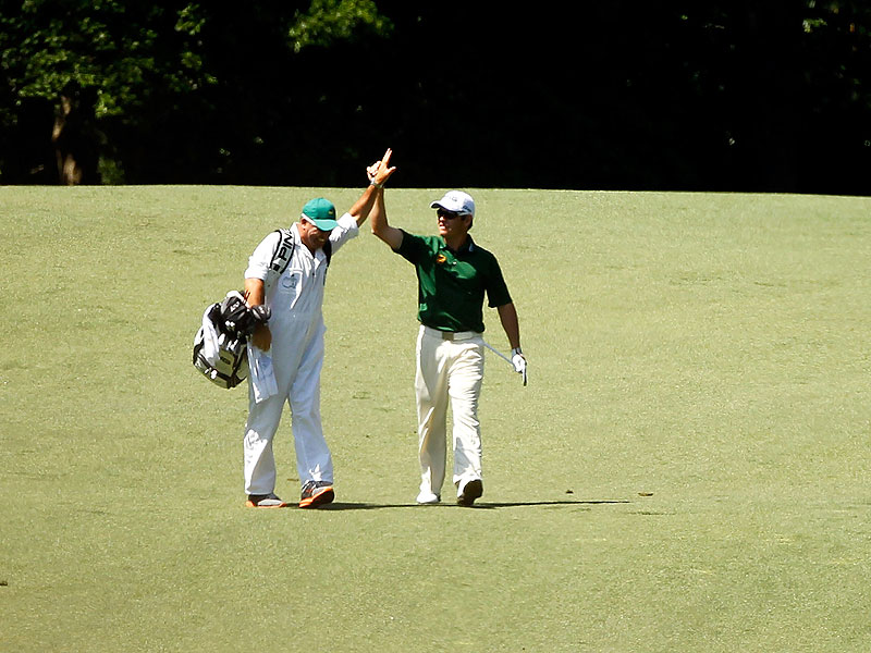 Louis Oosthuizen at the 2012 Masters