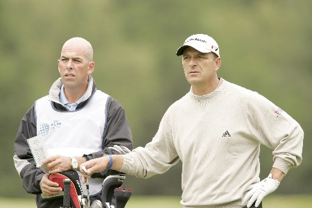 Gary Emerson during the third round of the 2005 KLM Open at Hilversumsche Golf Club in the Netherlands on June 11, 2005.Photo by Pete Fontaine/WireImage.com