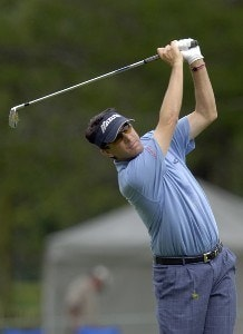 Billy Andrade during the fourth and final round of the U.S. Bank Championship in Milwaukee at Brown Deer Park Golf Course in Milwaukee, Wisconsin, on July 30, 2006.Photo by Steve Levin/WireImage.com