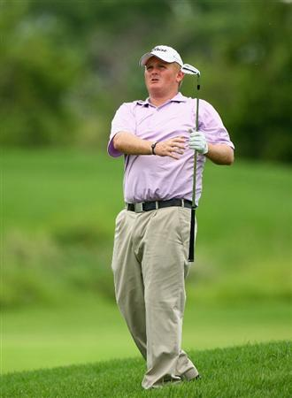 NELSPRUIT, SOUTH AFRICA - DECEMBER 13:  Callum MacAulay of Scotland in action during the third round of the Alfred Dunhill Championship at Leopard Creek Country Club on December 13, 2008 in Malelane, South Africa.  (Photo by Warren Little/Getty Images)
