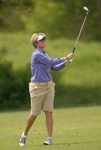 Beth Bader in action during the third round of the 2006 Franklin American Mortgage Championship benefiting the Monroe Carell Jr. Children's Hospital at Vanderbilt at Vanderbilt Legends Club in Franklin, Tennessee on May 5, 2006.Photo by Steve Grayson/WireImage.com