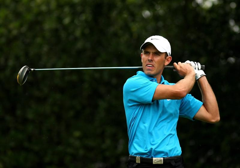 JOHANNESBURG, SOUTH AFRICA - JANUARY 11:  Charl Schwartzel of South Africa tee's off at the 1st during the final round of the Joburg Open at Royal Johannesburg and Kensington Golf Club on January 11, 2009 in Johannesburg, South Africa.  (Photo by Richard Heathcote/Getty Images)