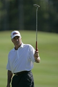 Curtis Strange during the second round of the Boeing Championship at Sandestin at Raven Golf Club in Destin, Florida on May 13, 2006.Photo by Michael Cohen/WireImage.com