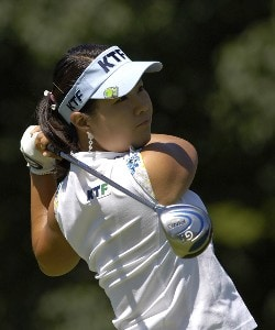 Meena Lee during the third round of  the Canadian Women's Open at the London Hunt and Country Club in London, Ontario on August 12, 2006.Photo by Steve Levin/WireImage.com