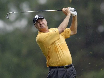 Don Pooley during the second round of the Commerce Bank Championship on the Red Course at Eisenhower Park in East Meadow, New York, on June 24, 2006.Photo by Steve Levin/WireImage.com