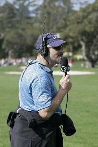 David Feherty during the fourth round of the AT&T Pebble Beach National Pro-Am on the Pebble Beach Golf Course on February 11, 2007. PGA TOUR - 2007 AT&T Pebble Beach National Pro-Am - Final RoundPhoto by Michael Cohen/WireImage.com