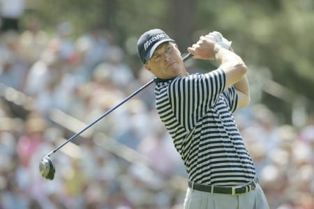 Bob Tway during the first round of the 2005 U.S. Open Golf Championship at Pinehurst Resort course 2 in Pinehurst, North Carolina on June 16, 2005.Photo by S. Badz/WireImage.com