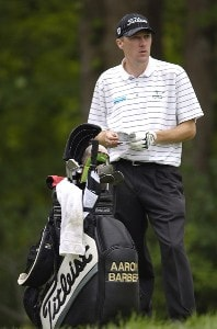 Aaron Barber during the first round of the Legend Financial Group Classic at the Stone Water Golf Club in Cleveland, Ohio on Thursday, August 31, 2006.Photo by Steve Levin/WireImage.com