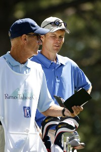 Bob Estes during the second round of the Reno Tahoe Open held at Montreux Golf and Country Club in Reno, Nevada, on August 25, 2006.Photo by Stan Badz/PGA TOUR/WireImage.com