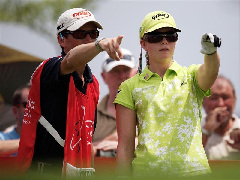 BANGKOK, THAILAND - FEBRUARY 26:  Paula Creamer of the USA during day one of the Honda LPGA Thailand 2009 at Siam Country Club Plantation on February 26, 2009 in Pattaya, Chonburi, Thailand.  (Photo by Chumsak Kanoknan/Getty Images)