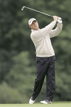 Gary Emerson during the second round of the 2005 Smurfit European Open on the Palmer Course at the K Club in Straffan, Ireland on July 1, 2005.Photo by Pete Fontaine/WireImage.com