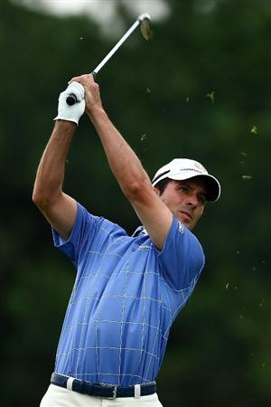 OAKVILLE, ONTARIO, CANADA - JULY 25: Mike Weir of Canada plays his second shot on the fifth hole during round two of the RBC Canadian Open at Glen Abbey Golf Club on July 25, 2009 in Oakville, Ontario, Canada.  (Photo by Chris McGrath/Getty Images)