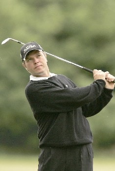 Jose Manuel Lara during the final round of the 2005 KLM Open at Hilversumsche Golf Club. June 12, 2005Photo by Pete Fontaine/WireImage.com