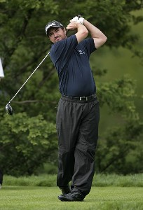 Mark Hensby during the first round of the Barclays Classic held at Westchester Country Club in Rye, New York on June 8, 2006.Photo by Chris Condon/PGA TOUR/WireImage.com