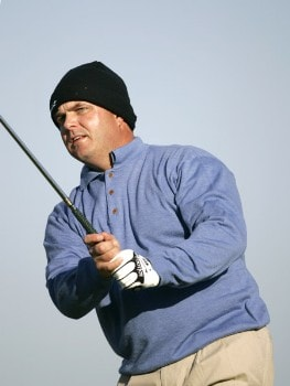 Vance Veazey during the third round of the Nationwide Tour Championship held  on the Senator course at Capitol Hill GC in Prattville, Alabama on Saturday, October 29, 2005.Photo by Sam Greenwood/WireImage.com