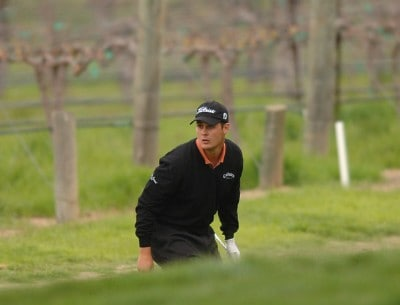 Jeff Quinney in action during the final round of the Nationwide's TOUR 2006 Livermore Valley Wine Country Championship at The Course at Wente Vineyards in Livermore, California April 2, 2006.Photo by Steve Grayson/WireImage.com