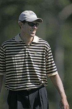 Nick O'hern of the International team during a practice round at The Presidents Cup at Robert Trent Jones Golf Club in Prince William County, Virginia on September 21, 2005.Photo by Sam Greenwood/WireImage.com