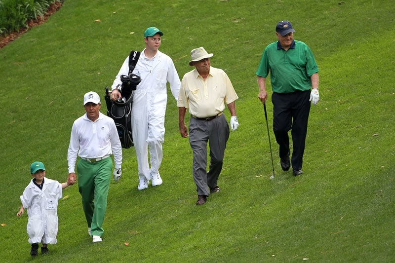 Gary Player, Arnold Palmer and Jack Nicklaus