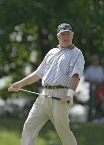 Tom Jenkins during the third and final round of the Constellation Energy Classic at Hayfields Country Club in Hunt Valley, Maryland on September 17, 2006.Photo by Michael Cohen/WireImage.com