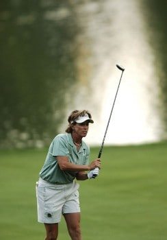 Rosie Jones in action during the second round of the 2005 U.S. Women's Open at Cherry Hills Country Club in Englewood, Colorado, June 24, 2005.Photo by Steve Grayson/WireImage.com