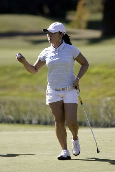 Jeong Jang  during the first round of the 2005 Safeway Classic at Columbia Edgewater Country Club, on Friday,  August 18, 2005.Photo by Allan Campbell/WireImage.com