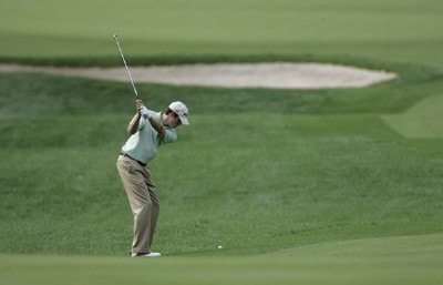 Kyle Reifers during the first round of the 2006 Deutsche Bank Championship held at TPC Boston in Norton, Massachusetts on September 1, 2006.Photo by Michael Cohen/WireImage.com