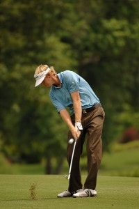 Brandt Snedeker on the 1st hole during the fourth and final round of the Stanford St. Jude Championship at the TPC Southwind on Sunday, June 10, 2007 in Memphis, Tennessee PGA TOUR - 2007 Stanford St. Jude Championship - Final RoundPhoto by Marc Feldman/WireImage.com