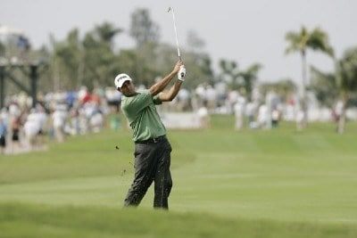 Arjun Atwal during the second round of the Ford Championship at Doral held on the Blue Course at Doral Golf Resort and Spa, in Doral, Florida, on March 3, 2006.Photo by: Caryn Levy/PGA TOUR