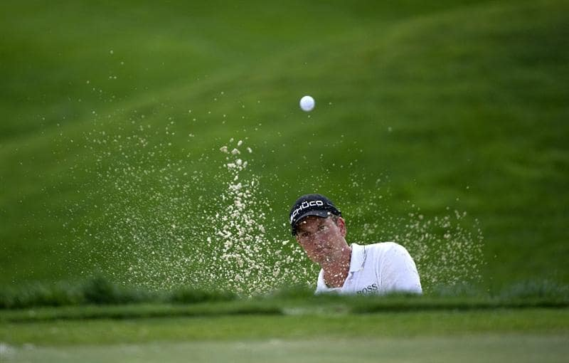 SAN MARTIN, CA - OCTOBER 16:  Henrik Stenson of Sweden makes a tee shot on the fifth hole during the third round of the Frys.com Open at the CordeValle Golf Club on October 16, 2010 in San Martin, California.  (Photo by Robert Laberge/Getty Images)