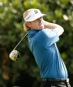 Brandt Snedeker hits his tee shot at the first hole during the second round of the Mercedes-Benz Championship at the Plantation Course at Kapalua on January 4, 2008 in Kapalua, Maui, Hawaii. PGA TOUR - 2008 Mercedes-Benz Championship - Second RoundPhoto by Stan Badz/PGA TOUR/WireImage.com
