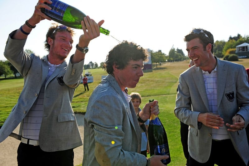 Rory McIlroy at the 2009 Vivendi Trophy