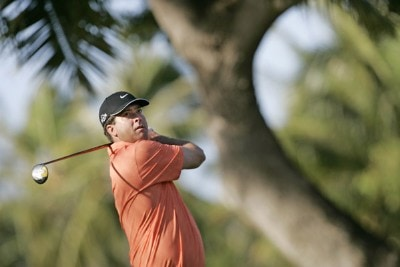 Chris Couch drives off the 4th tee during the second round of the Sony Open held at the Waialae Country Club in Honolulu, Hawaii on January 12, 2007. PGA TOUR - 2007 Sony Open - Second RoundPhoto by Marco Garcia/WireImage.com