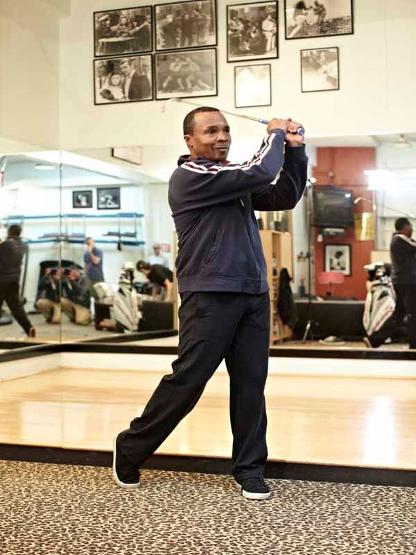 The Haney Project, Sugar Ray Leonard