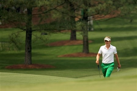AUGUSTA, GA - APRIL 10:  Luke Donald of England walks to the second green during the first round of the 2008 Masters Tournament at Augusta National Golf Club on April 10, 2008 in Augusta, Georgia.  (Photo by Harry How/Getty Images)