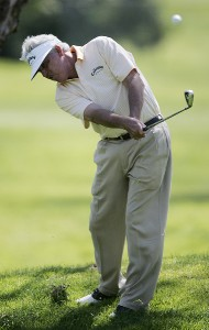 Dave Eichelberger in action during the final round of the Toshiba Classic at Newport Beach Country Club in Newport Beach, California on March 19, 2006.Photo by Gregory Shamus/WireImage.com