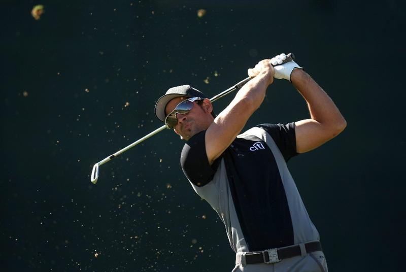 SCOTTSDALE, AZ - JANUARY 29: James Nitties of Australia hits his tee shot on the 16th hole during the first round of the FBR Open on January 29, 2009 at TPC Scottsdale in Scottsdale, Arizona.  (Photo by Stephen Dunn/Getty Images)