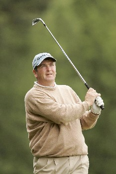 Garry Houston during the second round of the 2005 KLM Open at Hilversumsche Golf Club in the Netherlands on June 10, 2005.Photo by Pete Fontaine/WireImage.com