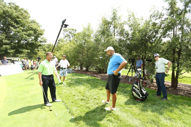 Big Break Academy Greenbrier, Michael Breed and Isaac Sanchez