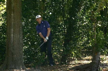 PALM HARBOR, FL - MARCH 09:  Brandt Snedeker hits from the woods on the 1st hole during the final round of the PODS Championship at Innisbrook Resort and Golf Club on March 9, 2008 in Palm Harbor, Florida.  (Photo by Sam Greenwood/Getty Images)