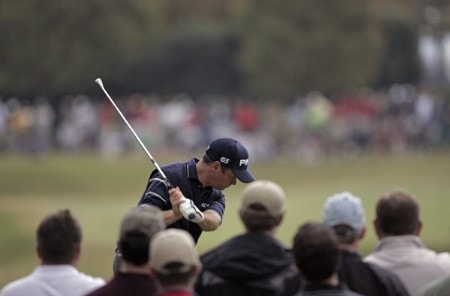 Ted Purdy during the final round of THE TOUR Championship at East Lake Golf Club in Atlanta, Georgia on November 6, 2005.Photo by Sam Greenwood/WireImage.com
