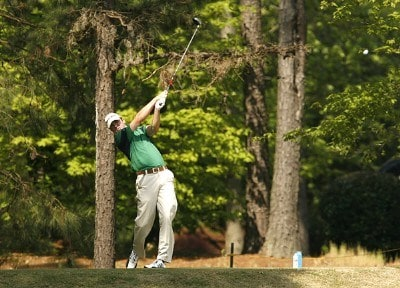 Martin Laird tees off the 14th hole during the second round of the 2007 Athens Regional Foundation Classic Friday, April 20, 2007, at the Jennings Mill Country Club in Bogart, Georgia. Nationwide Tour - 2007 Athens Regional Foundation Classic - Second RoundPhoto by Kevin C.  Cox/WireImage.com