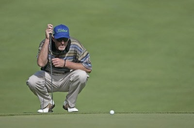 Frank Lickliter II during the first round of the Buick Open held at Warwick Hills Golf & Country Club in Grand Blanc, Michigan, on June 28, 2007. Photo by: Chris Condon/PGA TOURPhoto by: Chris Condon/PGA TOUR