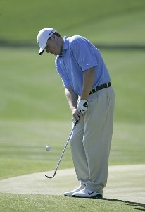 Chad Campbell during a practice round for THE PLAYERS Championship held at the TPC Stadium Course in Ponte Vedra Beach, Florida on March 22, 2006.Photo by Sam Greenwood/WireImage.com
